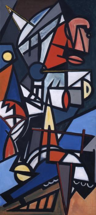 Emilio Vedova, Il guado, 1948