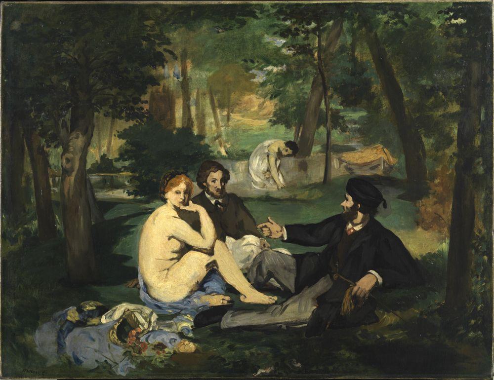Édouard Manet (1832-1883)Déjeuner sur l'herbe, circa 1863-68
