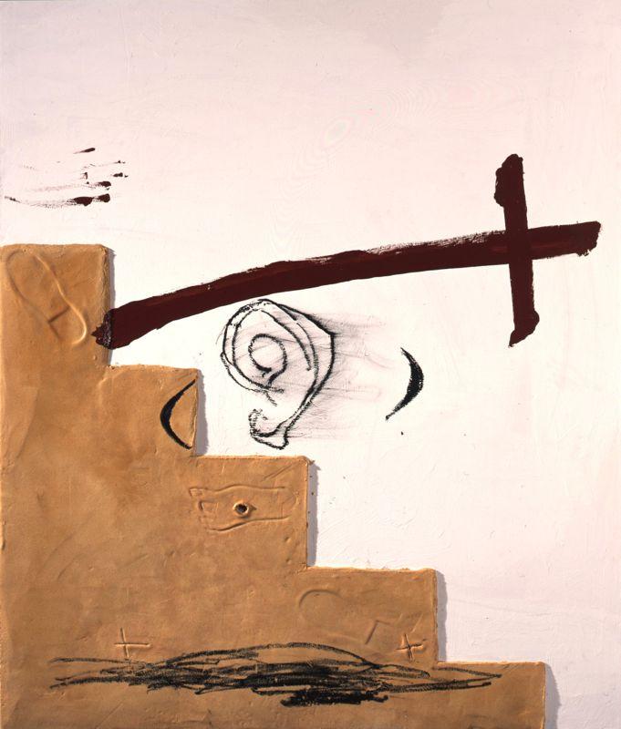 Antoni Tàpies, Escala i espasa, 2005